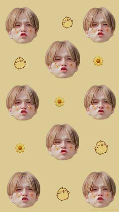 Yoshi, K Wallpaper, You Are My Treasure, K Idol, Funny Wallpapers, Treasure Boxes, Fandom, Memes, Kawaii
