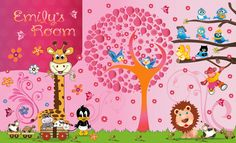 art or illustration for Personal Use - Wall graphics for a nursery wall by SimiDesigns