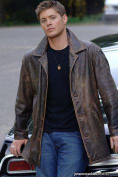 15 reasons why Dean Winchester is the pefect man. He can wear the hell out of a leather jacket.