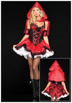 Deluxe Miss Red Riding Hood Costume