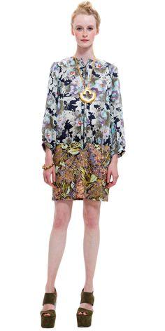 Suno HOOK AND BAR MINI DRESS  sale $375.00