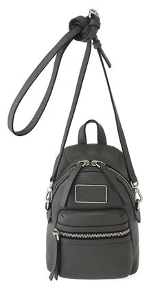 Marc by Marc Jacobs Domo Cross Biker in Faded Aluminum
