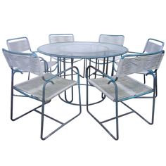 Walter Lamb Bronze Dining Set From A Unique Collection Of Antique And Modern Garden Furniture