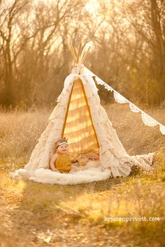 a winter teepee session.