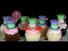 Mad Hatter Fondant Cupcake Topper Tutorial - CakeCentral.com