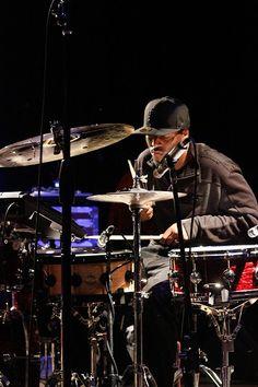 Drummer Chris Dave of The Robert Glasper Experiment.