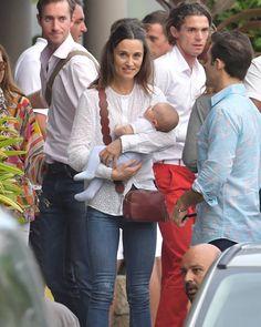 Catherine Duchess of Cambridge's Sister Pippa Middleton Matthews and James Matthews and Arthur Michael William Matthews…