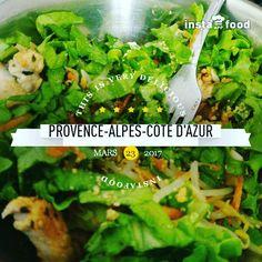 #chicken #salade #carotte et #soja