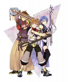 Tags: Anime, Kingdom Hearts, Pixiv, Aqua (Kingdom Hearts), Kingdom Hearts: Birth by Sleep