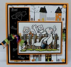 High Hopes Stamps: Challenge 239: Fall or Halloween
