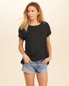 T-shirt oversize coupe boyfriend