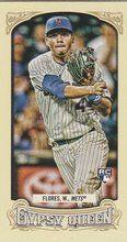 2014 Gypsy Queen Mini Base #59 Wilmer Flores New York Mets