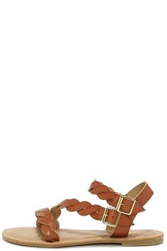 c92c174943543 Best of the Twist Tan Ankle Strap Sandals at Lulus.com!  StilettoHeels Ankle