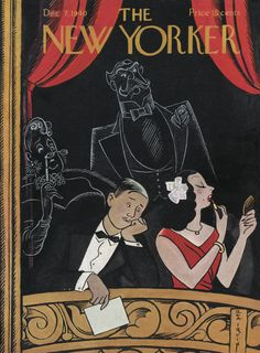 The New Yorker - Saturday, December 7, 1940 - Issue # 825 - Vol. 16 - N° 43 - Cover by : Rea Irvin