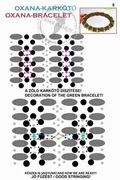Oxana Bracelet pattern 5