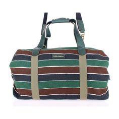 5be0e693a9d7 Dolce   Gabbana Multicolor striped boston bag