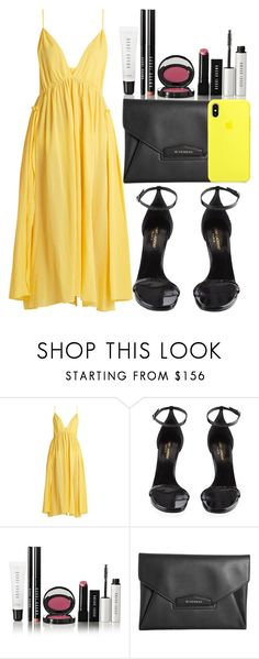 """""""yellow."""" by inlovewith4idiots ❤ liked on Polyvore featuring Loup Charmant, Yves Saint Laurent, Bobbi Brown Cosmetics and Givenchy"""