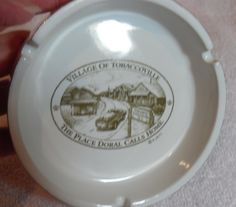 Vintage RJR Doral Ashtray, Tobaccoville, NC ashtray vintage tobacciana, Gingerslittlegems by GingersLittleGems on Etsy
