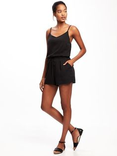 3cb88888143 Old Navy Soft Cami Romper for Women Maternity Wear