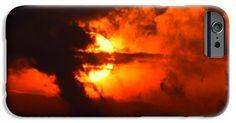 Bellissimo piano primo di un tramonto rosso sparse e drammatico iPhone 6 Caso #business #b2bMarketing #socialmediamarketing #contentmarketing #marketingtips #digitalmarketing #marketing #webMarketing