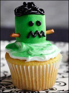 15 Halloween Cupcake Ideas