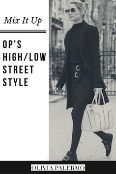 Pairing Dior with Zara--and topping it off with sneakers--OP perfects high/low street style.