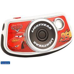 Appareil photo numérique Cars Lexibook - 1.3 Million de pixels - Résolution photo : 1600 x 1200 (UXGA), 1280 x 1024 (SXGA), 640 x 480 (VGA) - Résolution vidéo : 320 x 240 pixels - Ecran couleur LCD 1.4'' (3,56 cm) pour visionner photos et vidéos - Retardateur de 10 secondes - Format d'image : JPEG/AVI- Lecteur de cartes SD pour une mémoire extensible jusqu'à 2 Go - Interface PC : USB 1.1 - Compatible avec Windows 2000, XP, Vista™- Câble USB et CD-ROM d'utilisation inclus. Le 17 avril 2013.