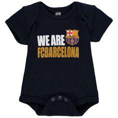 Barcelona Newborn & Infant Bodysuit - Navy