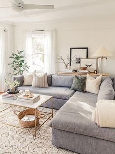 20 Best Small Apartment Living Room Decor and Design Ideas for 2019 Living Room Grey, Living Room Sets, Living Room Interior, Living Room Designs, Living Room Ideas House, Grey Living Room Furniture, Kitchen Interior, Small Apartment Living, Small Living