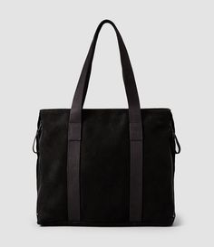 19457a374e87 AllSaints Men s Thorpe Tote Bag Our new season bags are sleek and modern in  aesthetic. The AllSaints Thorpe Tote Bag is a full leather tote bag  realised in ...
