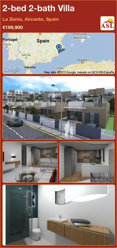 2-bed 2-bath Villa in La Zenia, Alicante, Spain ►€199,900 #PropertyForSaleInSpain