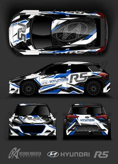 Richard Andersen Hyundai R5 wrap design