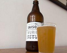 Saison Murici da Experimento Beer: frutas adquiradas em pequenas comunidades