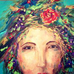 Dana Cargile #art;   Wear flowers. #art