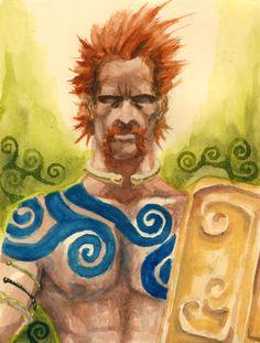 Celtic warrior (Pict or Gaul)