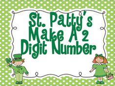 St Patty's Math Station FREEBIE