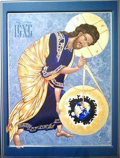 Christ the Divine Architect  Byzantine Icons