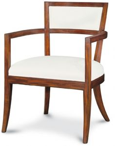 "From Ebanista, Dallas TX Villa Borguese Upholstered Back Chair  No: 503-103-02  24-1/2""W x 26""D x 33-3/4""H  Hand-carved frame in primavera solids with upholstered back.  COM requires 5 yards of plain fabric at 54""  Available in 02 Frutal, 04 Dark Distressed, 08 Cognac, and 36 Delawere (Walnut) finishes."