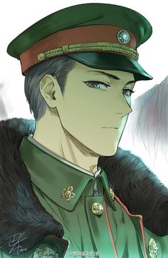 Why Japanese people have this thing for military style? I mean, they are drawing it amazingly, but still weird Handsome Anime Guys, Hot Anime Guys, Anime Love, Avatar Forum, Manga Boy, Manga Anime, Guerra Anime, Anime Military, Boy Character