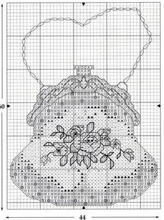 0 point de croix sacs à main anciens - cross stitch vintage purses part 2
