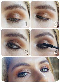 Fall Makeup Tutorial -- Easy!