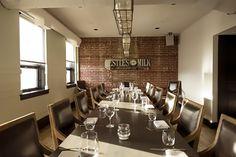Model Milk: Private Dining room = 18 ppl; Parlour = 50 ppl & own entrance