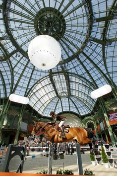 saut hermes. It is said that jumping at le Saut d'Hermès is an achievement for international riders... And I can understand why!