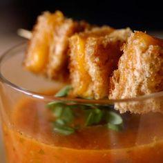 Roasted-Tomato Basil Soup Recipe From Barefoot Contessa