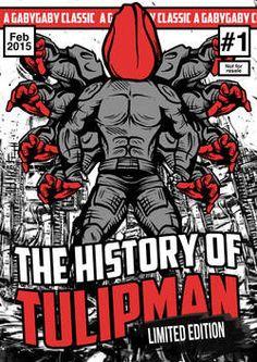Wereldkampioen kunst word je met superheld Tulipman - AD.nl