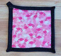Pot Holders - Flamingos