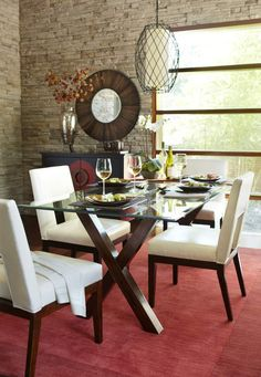 Offset modern furniture with bright and detailed accent pieces