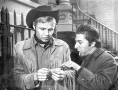 """'Midnight Cowboy' (1969)  Fresh off of his success with """"The Graduate,"""" Hoffman took home his second Oscar nomination for lead actor as crippled con man Enrico """"Ratso"""" Rizzo. Film newcomer Jon Voight also earned a nomination for lead actor in the movie where Texas meets the Big Apple."""