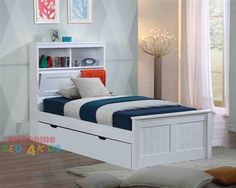 Botany Bed Frame with Trundle - Awesome Beds 4 Kids $998