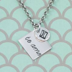 Look how cute this new Love Letter Design Stamp is! Beaducation: Love Letter Design Stamp [DS428]